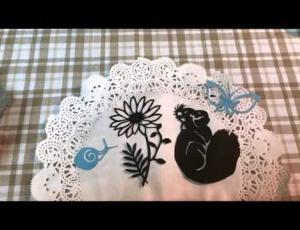 Embedded thumbnail for 紙雕圖案集可愛圖案輕鬆割示範影片